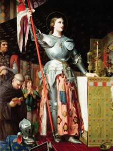 Joan of Arc - Ingres_coronation_charles_vii